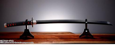 鬼滅の刃:刀スタンド写真