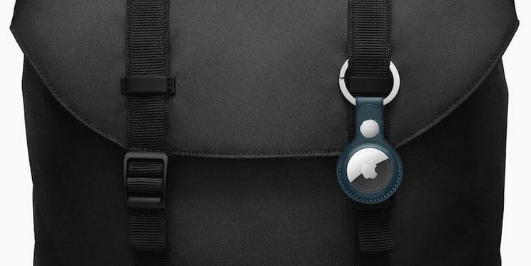 Apple AirTagレザーキーホルダー